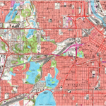 USGS Map of Minneapolis
