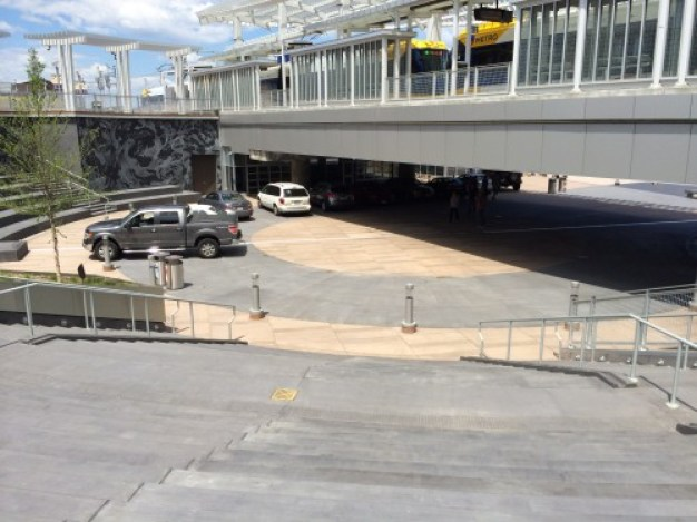 Free parking at Target Field Station Plaza