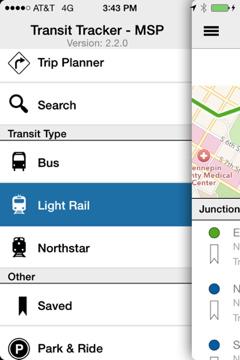 Transit Tracker App