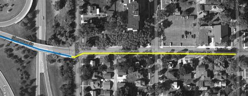 Sherman-bike-lane