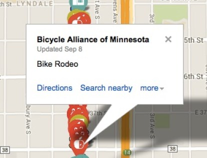 Bicycle Alliance of Minnesota Location