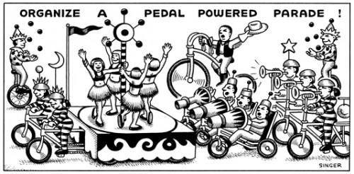 (No Exit) Organize A Pedal Powered Parade!