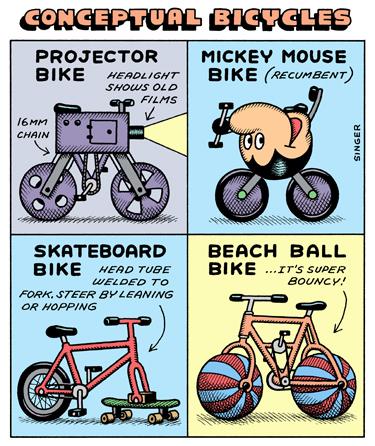 Conceptual Bicycles