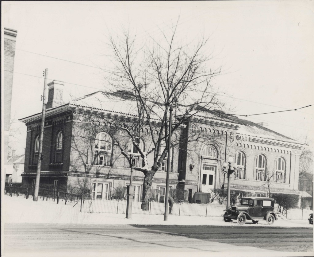 Franklin library, 1920s