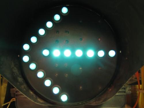 Fiber Optic Bimodal Arrow- Green Mode
