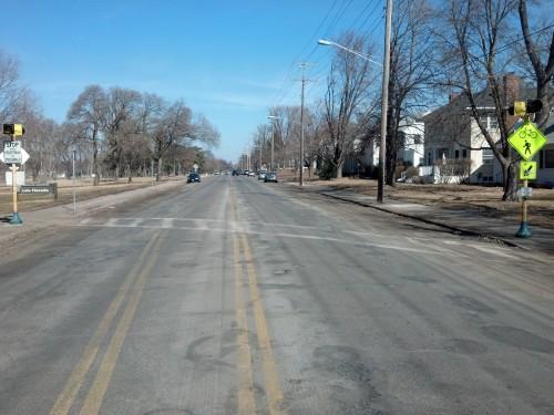Photo of 28th Avenue pedestrian crossing