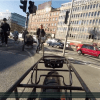Bikeable Cities--the view from a Copenhagen cycle track.