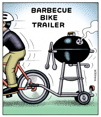 Barbecue Bike Trailer