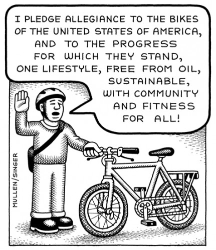 Bicycle Pledge of Allegiance