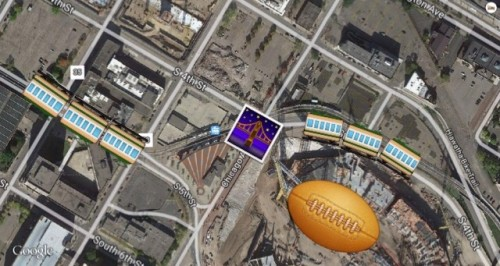 DTE Station Layout