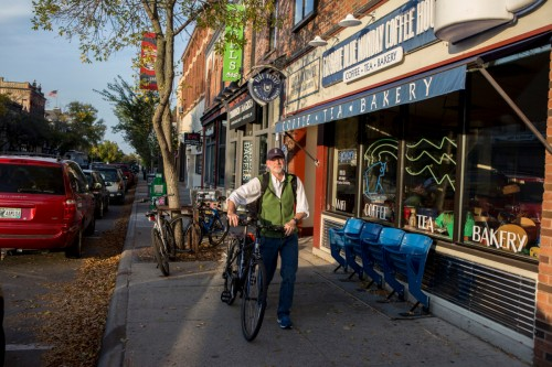 Northfield is a great place to retire with your bike (Photo Money Magazine)