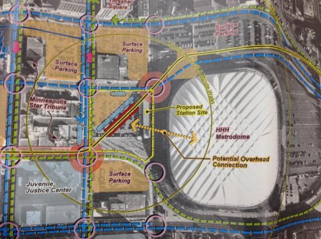 blue line concept map