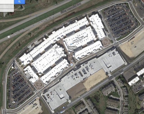 You can't even access any retail within 100' of the parking garage at the Eagan Outlet Mall.
