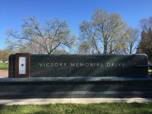Victory Memorial Drive sign