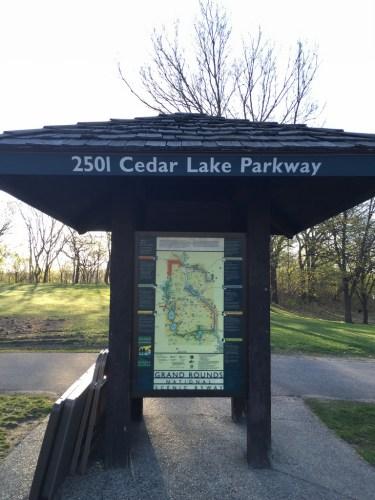Cedar Lake section map