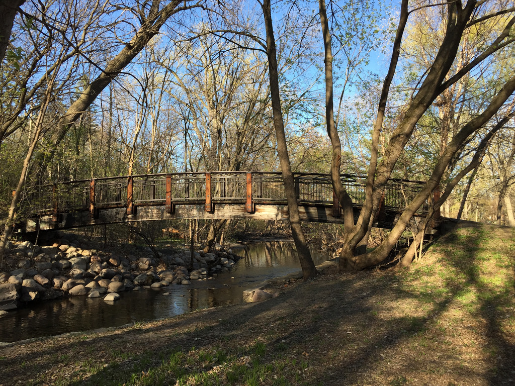 Bridge over Minnehaha Creek