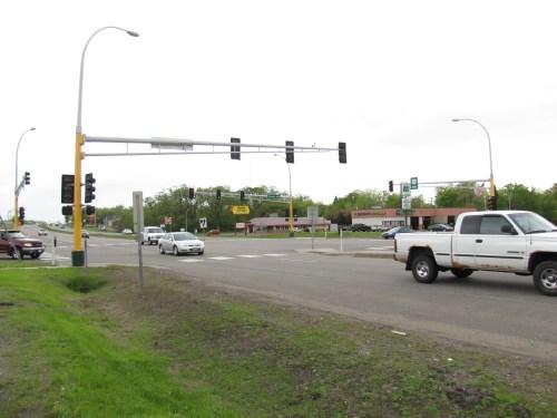 US 10 at Fair Oak Ave.