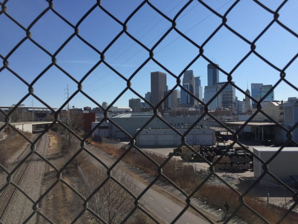 View of downtown Minneapolis