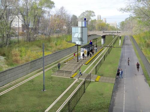 Midtown Bloomington Station Rendering
