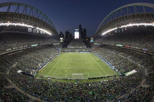 Century Link Field in Seattle