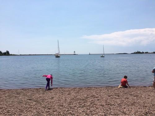 The Grand Marais Lake Front