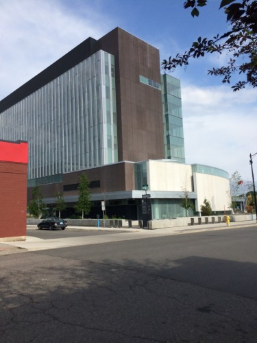Some public capital invested in the new Courthouse Building