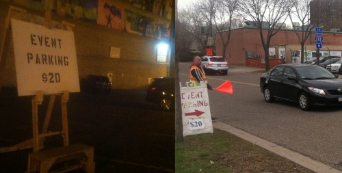 Event parking in Saint Paul