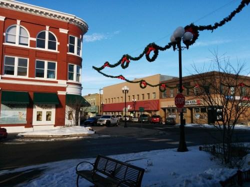 Downtown Brainerd in November 2014