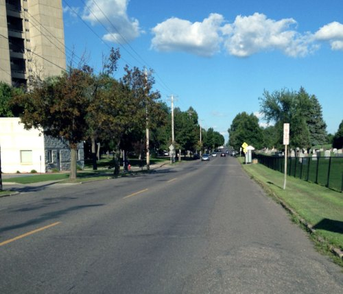 Front Avenue as it is now