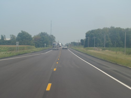 Two Lane section of US 14
