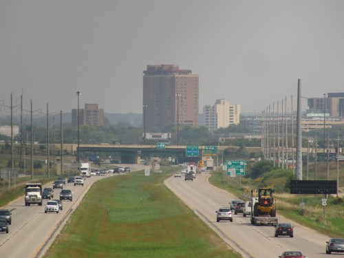 US 14 approaching Rochester