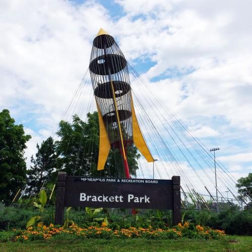 Brackett Park rocket.