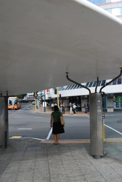 Intersection shelters in Wellington