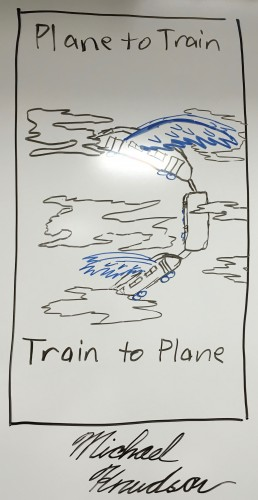 Plane to Train, Train to Plane (Michael Knudson)