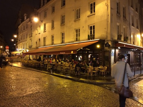 As wonderful as Paris cafes are, most don't encroach too much on the public realm