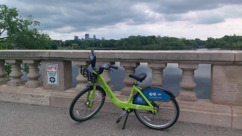 nice ride bike by lake