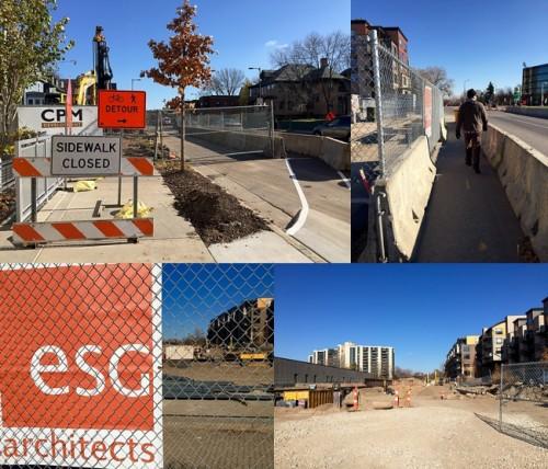 3118 W Lake Street construction site