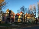 Three homes on Marshall Avenue