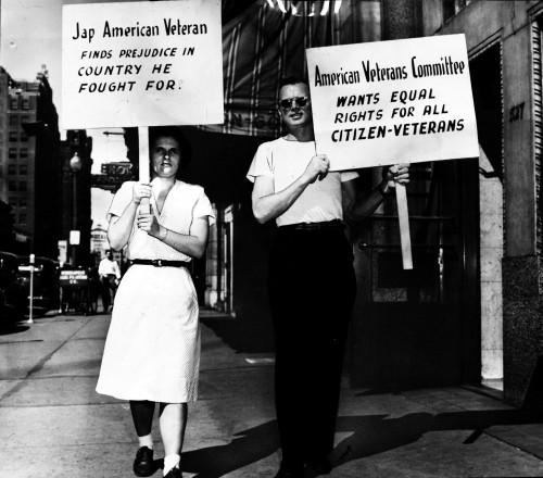 American-veterans-commitee-protest-for-Jon-Matsuo