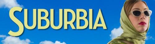 "Website banner for MN History Center ""Suburbia"" exhibit"