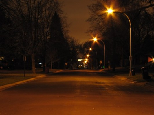 Typical Richfield Street at night