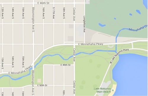 Cedar Ave. & East Minnehaha Parkway