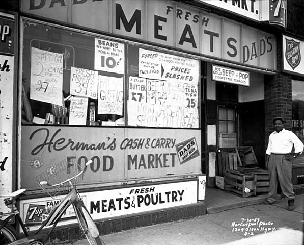 condemned store olson memorial 1957