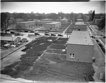 Sumner Field public housing in 1938.