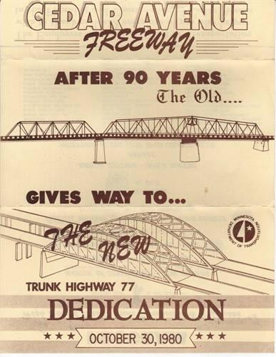 New Cedar Bridge Invitation.