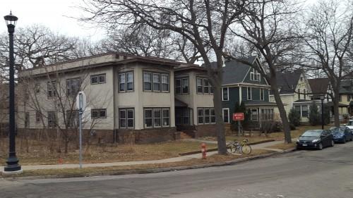 Minneapolis Neighborhood with 4plexes