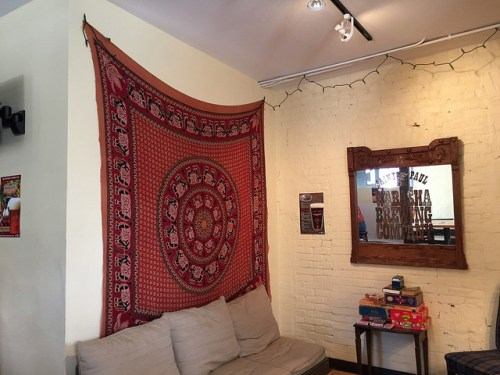 College dorm room vibe inside Wabasha Brewing Company