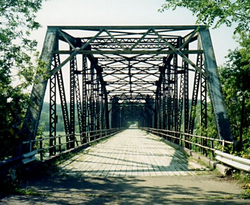 The Old Cedar Bridge, around 2002