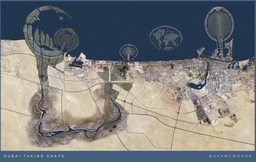 Dubai Master Plan - Formal in Concept, Rigid in Execution