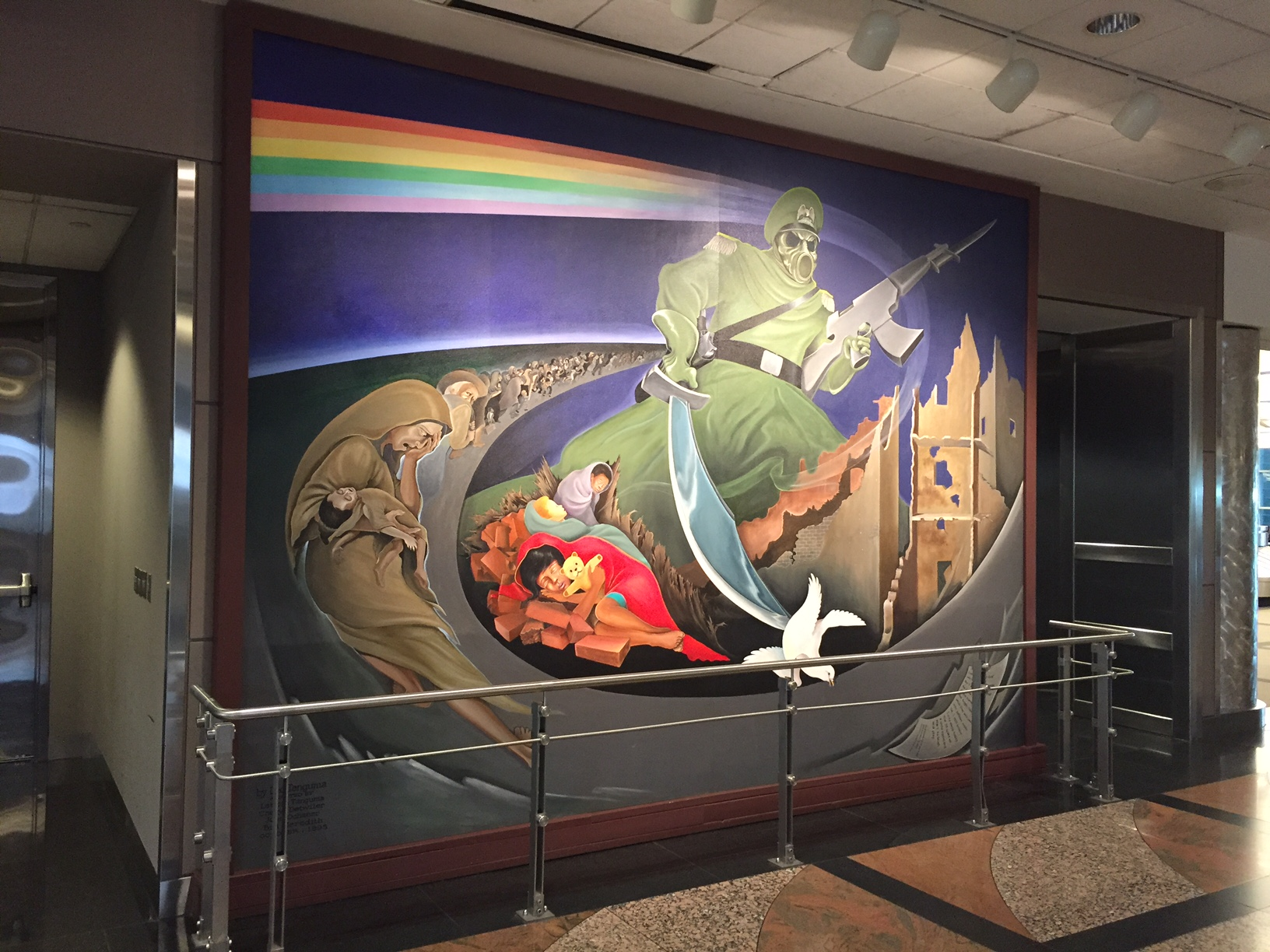 Denver Airport Painting